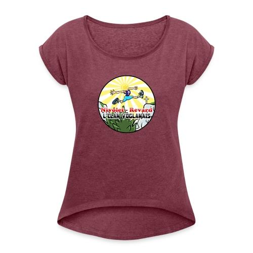 Trail Nivolet Revard - T-shirt à manches retroussées Femme