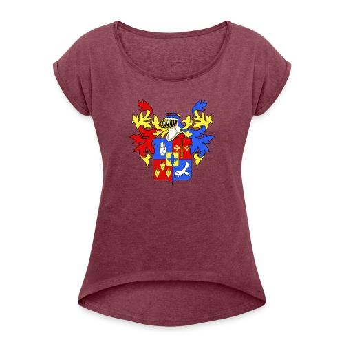 LECOMBLE 08 - T-shirt à manches retroussées Femme