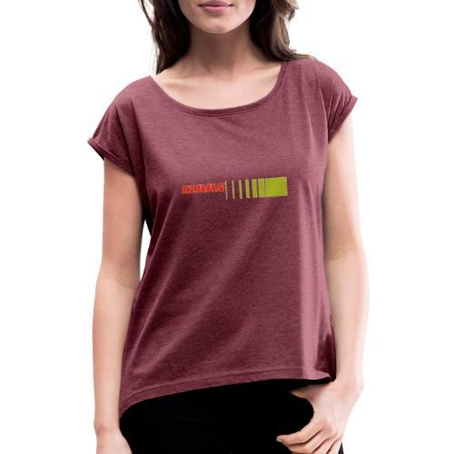 claas2 - Maglietta da donna con risvolti