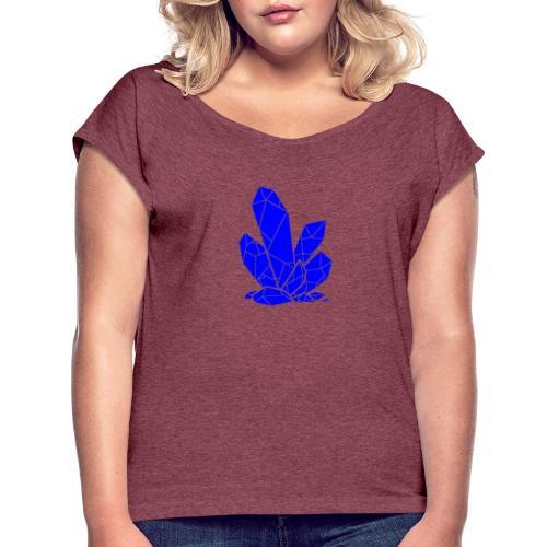 Deep Sleep - T-skjorte med rulleermer for kvinner