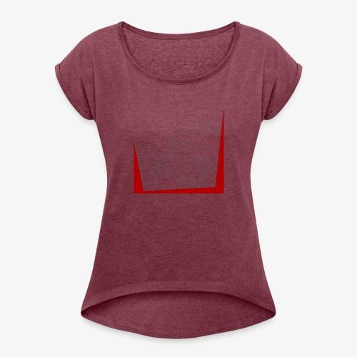 astri Abstract - Maglietta da donna con risvolti