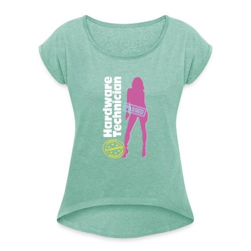 Hardware Technician - Maglietta da donna con risvolti