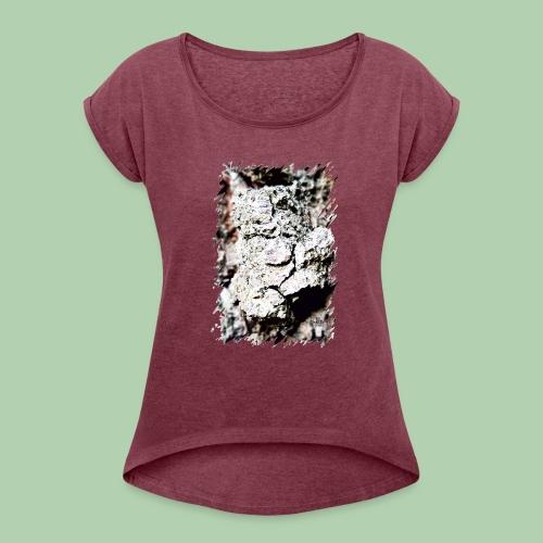 Steini - Frauen T-Shirt mit gerollten Ärmeln
