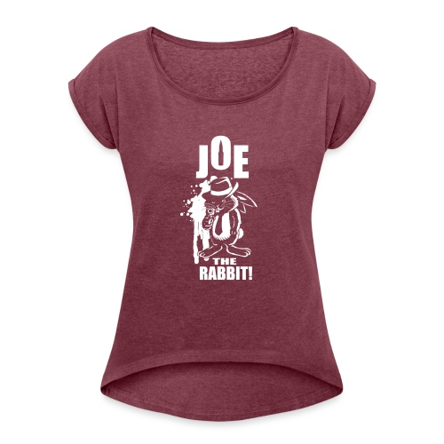 Joe The Rabbit! - Maglietta da donna con risvolti