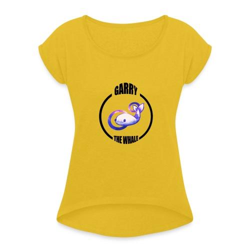 Garry_01 - Maglietta da donna con risvolti