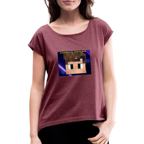 xxkyllingxx Nye twitch logo - Dame T-shirt med rulleærmer