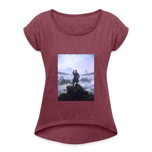 art 4 young - Maglietta da donna con risvolti