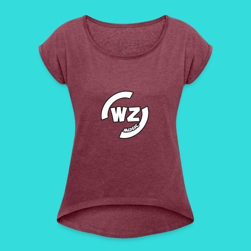 WALTERZ - T-skjorte med rulleermer for kvinner