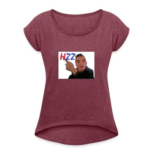 hetzeizo t-shirt Kind - Vrouwen T-shirt met opgerolde mouwen