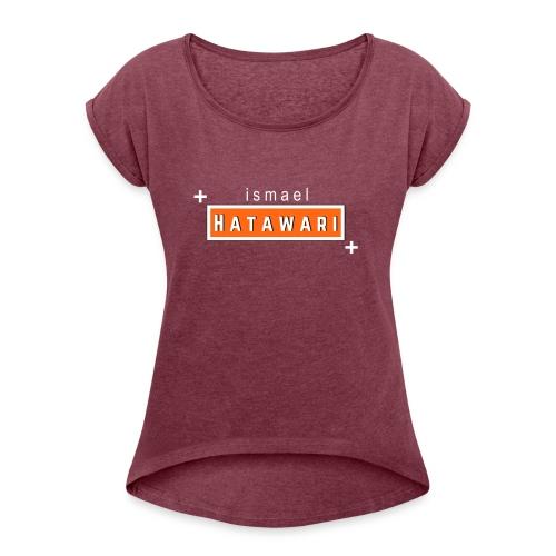 Intitulé Marque Calisthenics - T-shirt à manches retroussées Femme