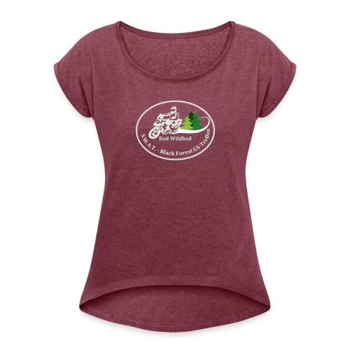 Treffen-Shirt - Frauen T-Shirt mit gerollten Ärmeln