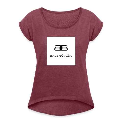 stylish wear - Women's T-Shirt with rolled up sleeves