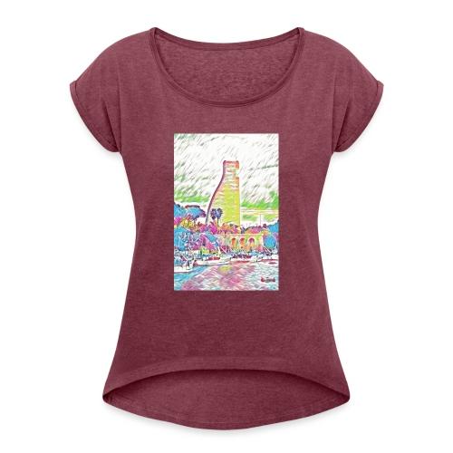 Brindisi - Maglietta da donna con risvolti