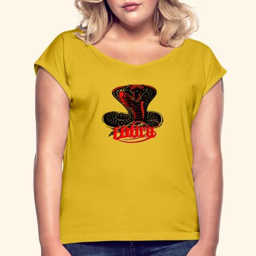 Cobra - T-shirt à manches retroussées Femme