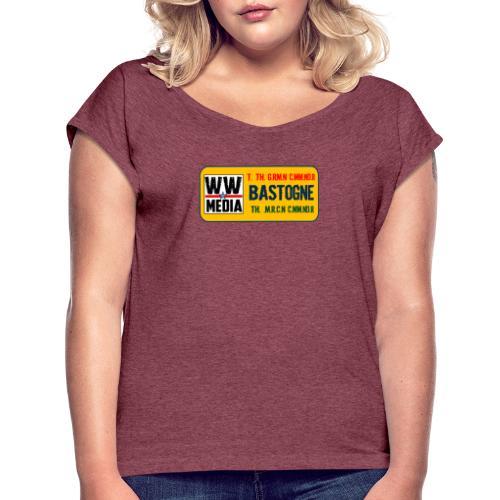 NOIX! - T-shirt à manches retroussées Femme