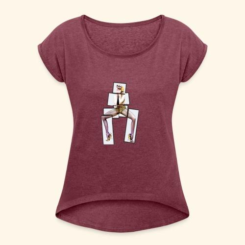 PINUP multiply - T-shirt à manches retroussées Femme