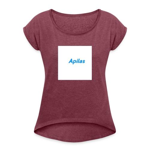 Apilas - Frauen T-Shirt mit gerollten Ärmeln