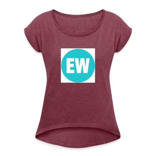 06302015 Regular EW Facebook 750x750 1 - T-shirt med upprullade ärmar dam
