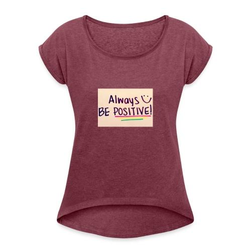 Bamse - Dame T-shirt med rulleærmer