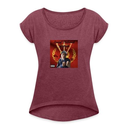 50560895 2456984137705630 3671653832091238400 n - T-skjorte med rulleermer for kvinner