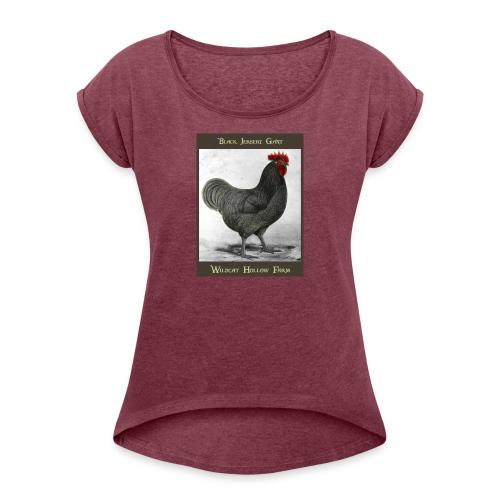 Jersery Giant - Frauen T-Shirt mit gerollten Ärmeln