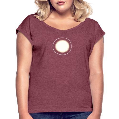 Iron Man Arc Reactor - T-shirt med upprullade ärmar dam