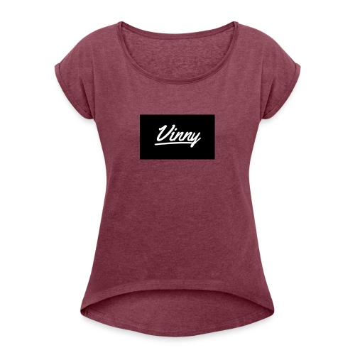 61851822 790864581314472 4423119095658971136 n - Vrouwen T-shirt met opgerolde mouwen