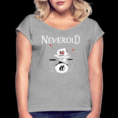 LOGO NEVEROLD - T-shirt à manches retroussées Femme