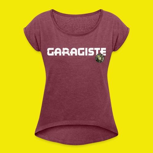 GARAGISTE - T-shirt à manches retroussées Femme