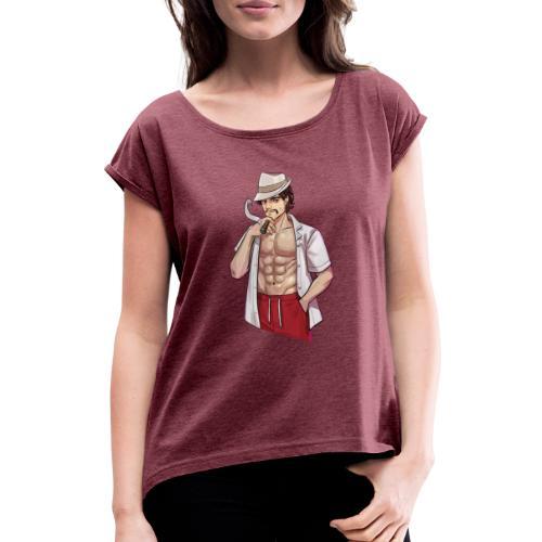 Hannover | Havanna - Frauen T-Shirt mit gerollten Ärmeln