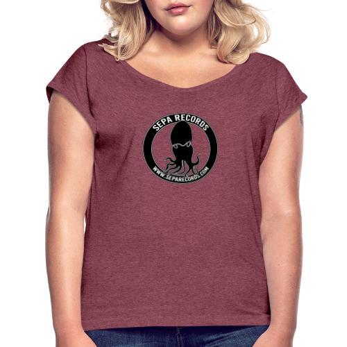Logo SEPA RECORDS - Maglietta da donna con risvolti