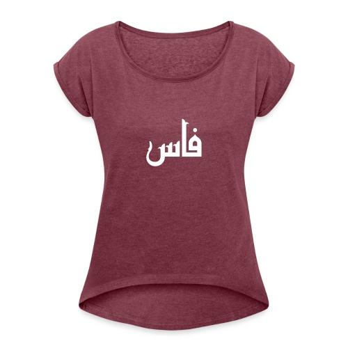 tamaz - T-shirt à manches retroussées Femme