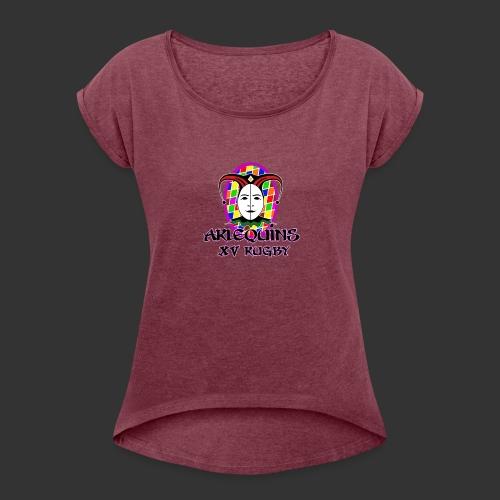 Arlequins Beauvais - T-shirt à manches retroussées Femme