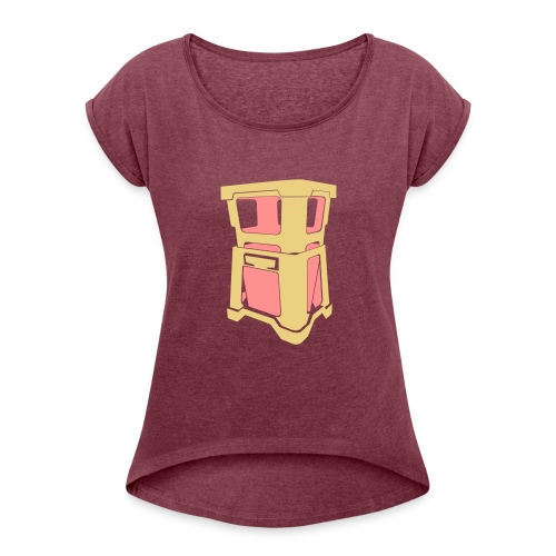 neofust eps - Women's T-Shirt with rolled up sleeves