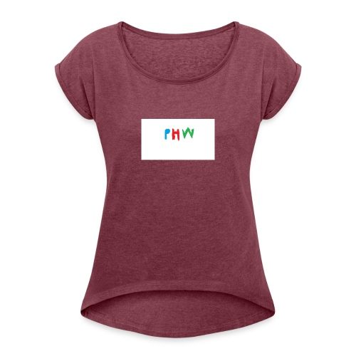 PHW CHRISTMAS - Women's T-Shirt with rolled up sleeves