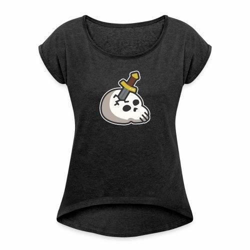 runescape slayer - Camiseta con manga enrollada mujer