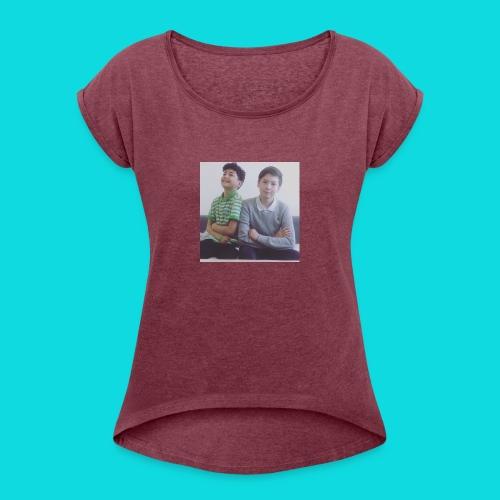 Yakonic T-shirt - Dame T-shirt med rulleærmer