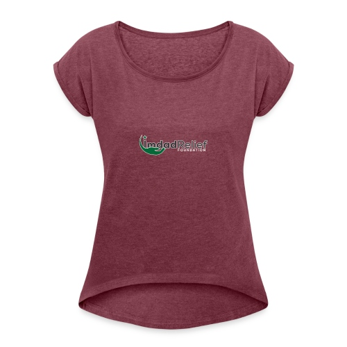 Imdad 02 - Women's T-Shirt with rolled up sleeves