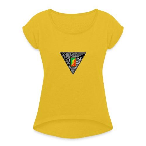 2ème REP - T-shirt à manches retroussées Femme