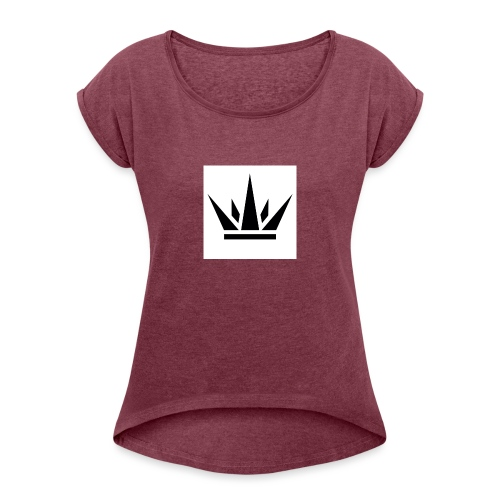 King T-Shirt 2017 - Women's T-Shirt with rolled up sleeves