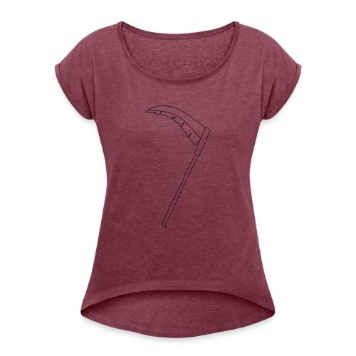 Halloween - T-shirt à manches retroussées Femme