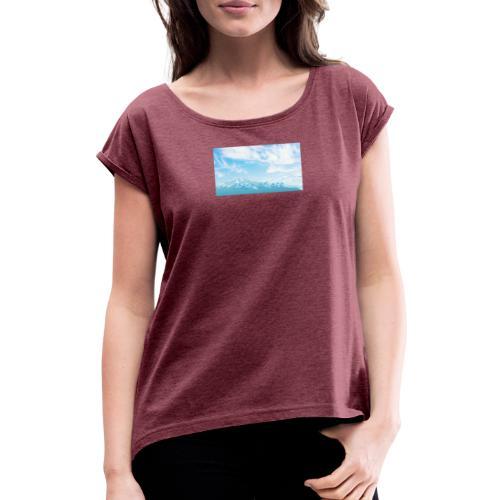 0FFFF691 2989 423A A5F9 A79E5E174E54 - T-shirt med upprullade ärmar dam