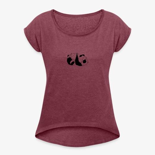 PANDA GEO - T-shirt à manches retroussées Femme