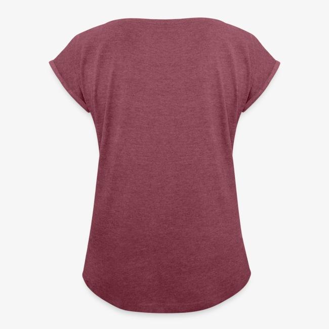Vorschau: Pfeiff auf den Prinzen - Frauen T-Shirt mit gerollten Ärmeln