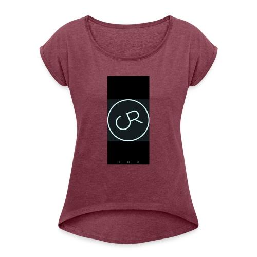 ReCrew - Frauen T-Shirt mit gerollten Ärmeln