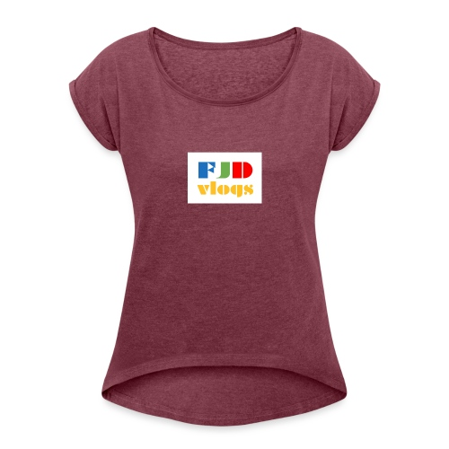 da hat - Women's T-Shirt with rolled up sleeves