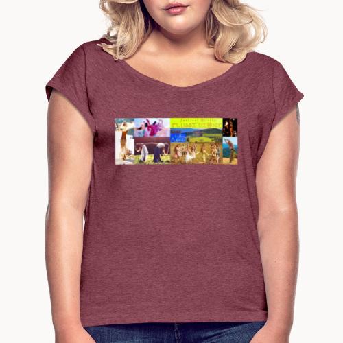 Locandina #festivalflussidionde - Maglietta da donna con risvolti