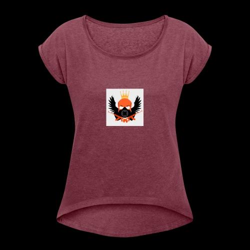 Zombro13 kammen - Dame T-shirt med rulleærmer