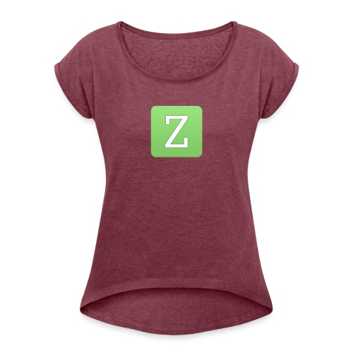 New Zarp Update : Zarp Merch - Women's T-Shirt with rolled up sleeves