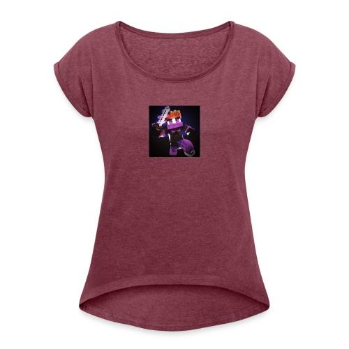 KovaPvP T-Shirt - Dame T-shirt med rulleærmer